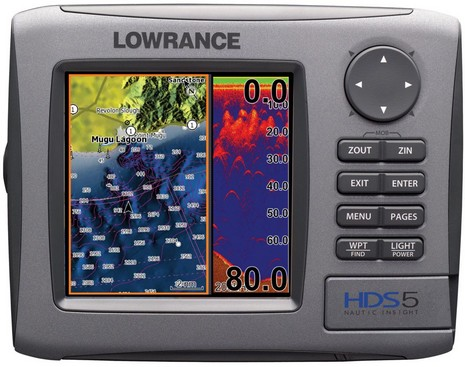 Lowrance_HDS-5_with_Nautic_Insight_Maps